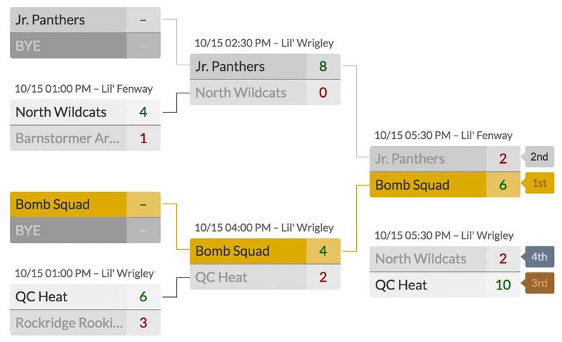 league  u0026 tournament scheduler